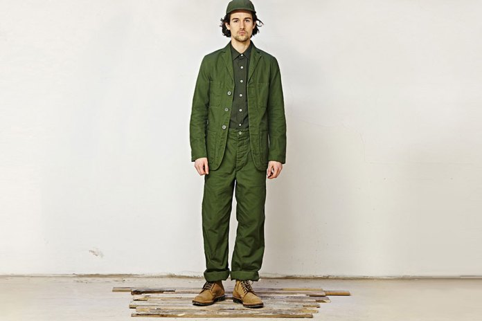 Nigel Cabourn x Lybro 2015 Fall/Winter Lookbook