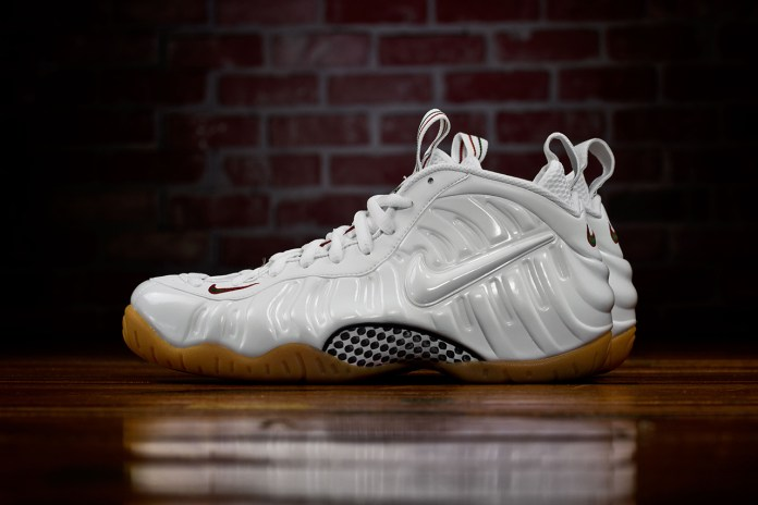 "Nike Air Foamposite Pro ""White Gucci"""
