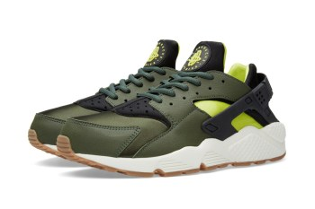 Nike Air Huarache Carbon Green/Black