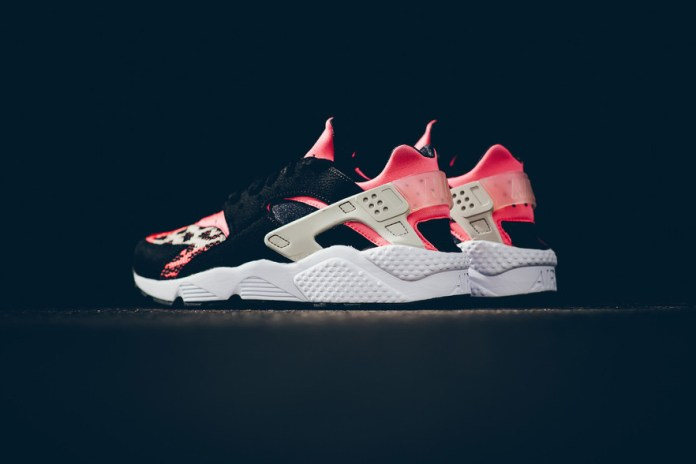 Nike Air Huarache Run PA Black/Hot Lava