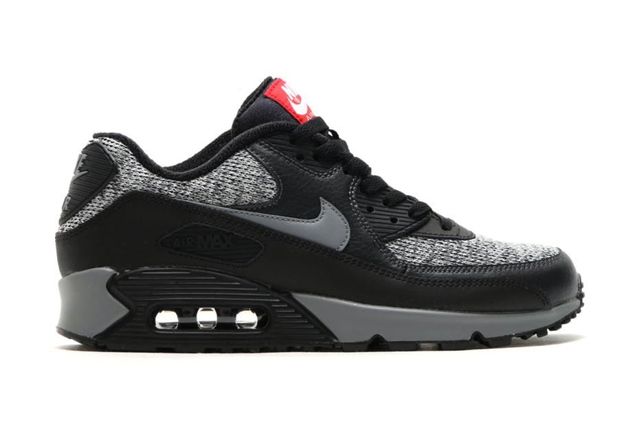 Nike Air Max 90 Essential Grey Black Red