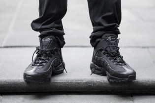 A Closer Look at the Nike Air Max 95 Sneakerboot