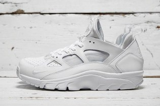 "Nike Air Trainer Huarache Low ""Triple White"""