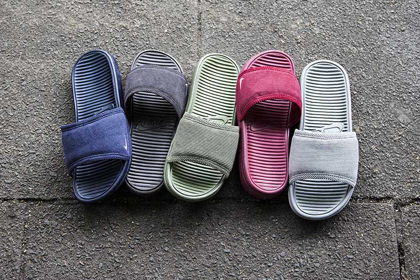 "Nike Benassi Solarsoft Slide SP ""Corduroy"" Pack"