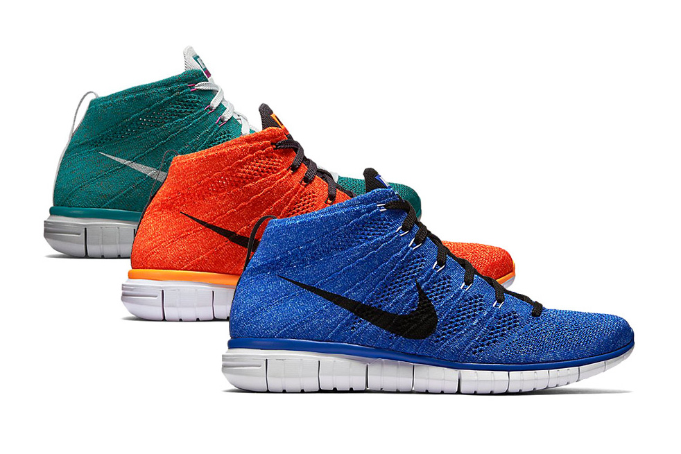 Nike 2015 Fall/Winter Flyknit Chukka Collection