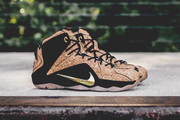 "Nike LeBron XII EXT ""Cork"""