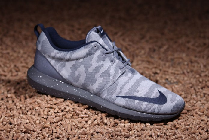 "Nike Roshe NM FB ""Grey Camo"""