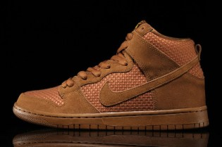 "Nike SB Dunk High ""Brown Ale"""