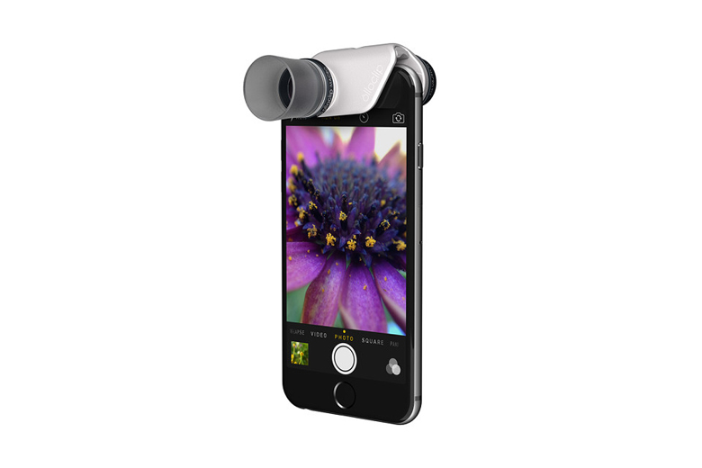 The olloclip Macro Pro Lens Gives You up to 21x Magnification