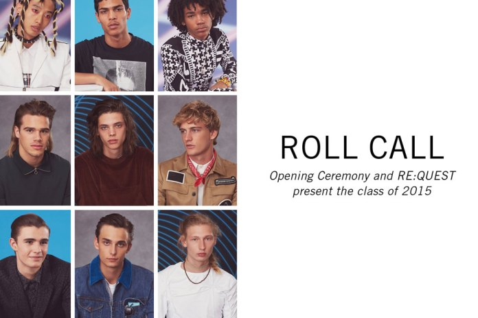 "Opening Ceremony x RE:QUEST Models ""Roll Call"" Editorial"