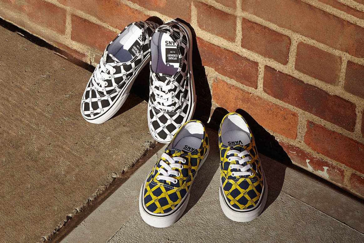 """Opening Ceremony x Vans 2015 Fall """"Hands Laced"""" Authentic"""