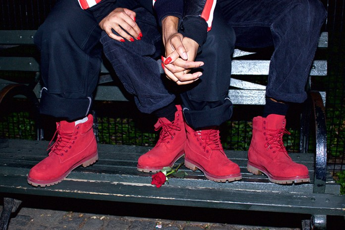 "Timberland 2015 Fall/Winter 6-Inch Boot ""Red"""