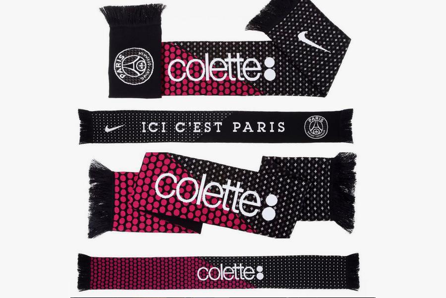 Paris Saint-Germain x colette Limited Edition Scarf