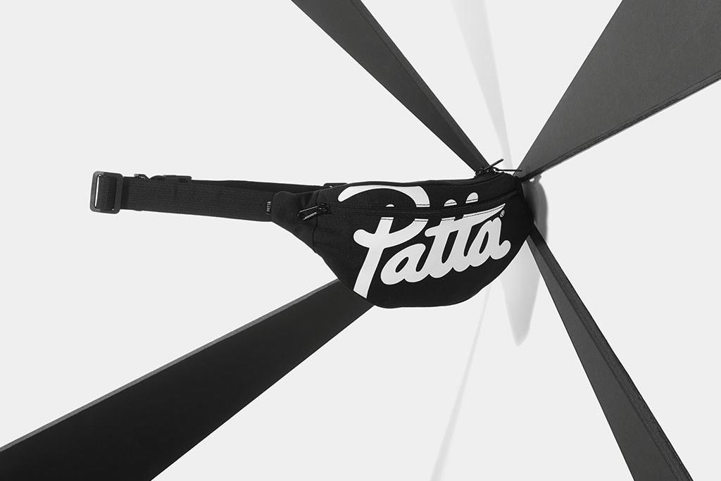 Nike Schoudertas : Patta fall bag collection hypebeast