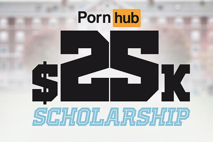 Pornhub Is Offering a $25,000 USD Scholarship