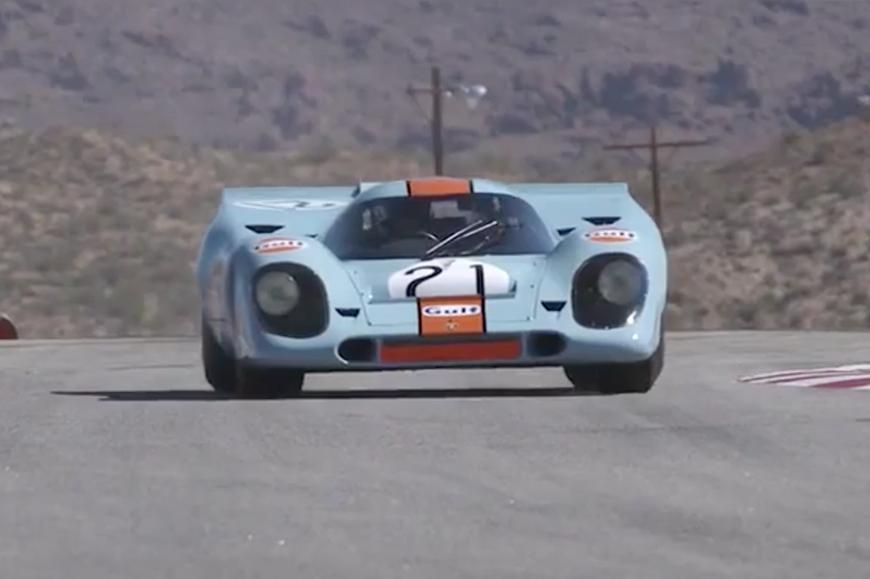 The Porsche 917 Returns for Rennsport Reunion V