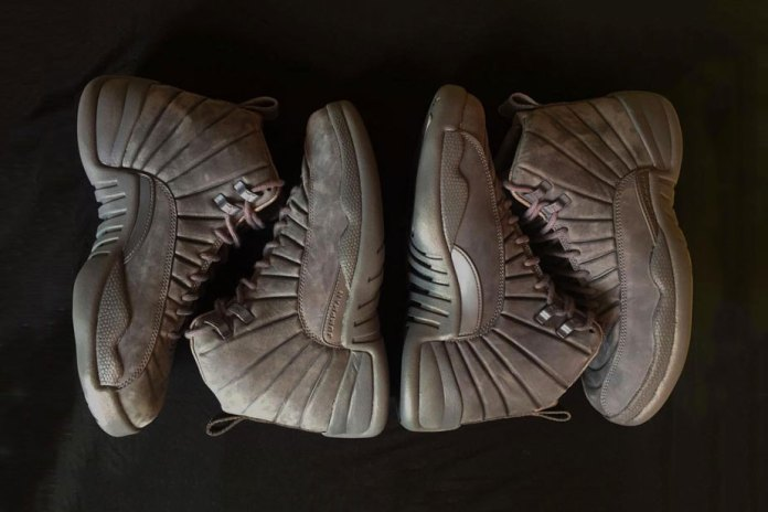 A First Look at the Public School x Air Jordan 12