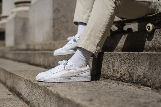 PUMA 2015 Fall/Winter Sportstyle Suede and Basket Classic Sneaker