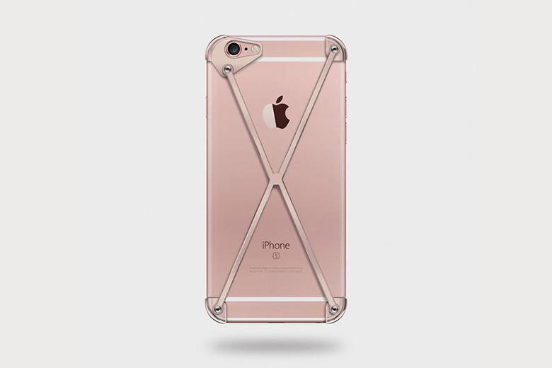 RADIUS Rose Gold iPhone Case