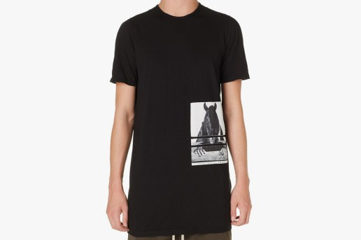 Rick Owens DRKSHDW Horse Head Level Tee