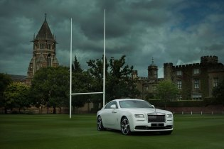 Rolls-Royce Celebrates the History of Rugby With a Bespoke Wraith