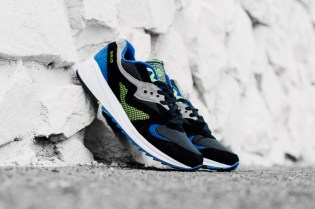 Saucony Grid 8000 CL Black/Purple