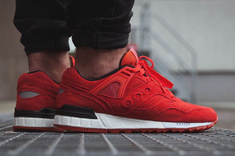 """Saucony Grid SD """"Solar Red"""""""