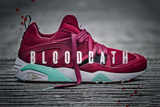 "Sneaker Freaker x Packer Shoes x PUMA Blaze of Glory ""Bloodbath"" Trailer"