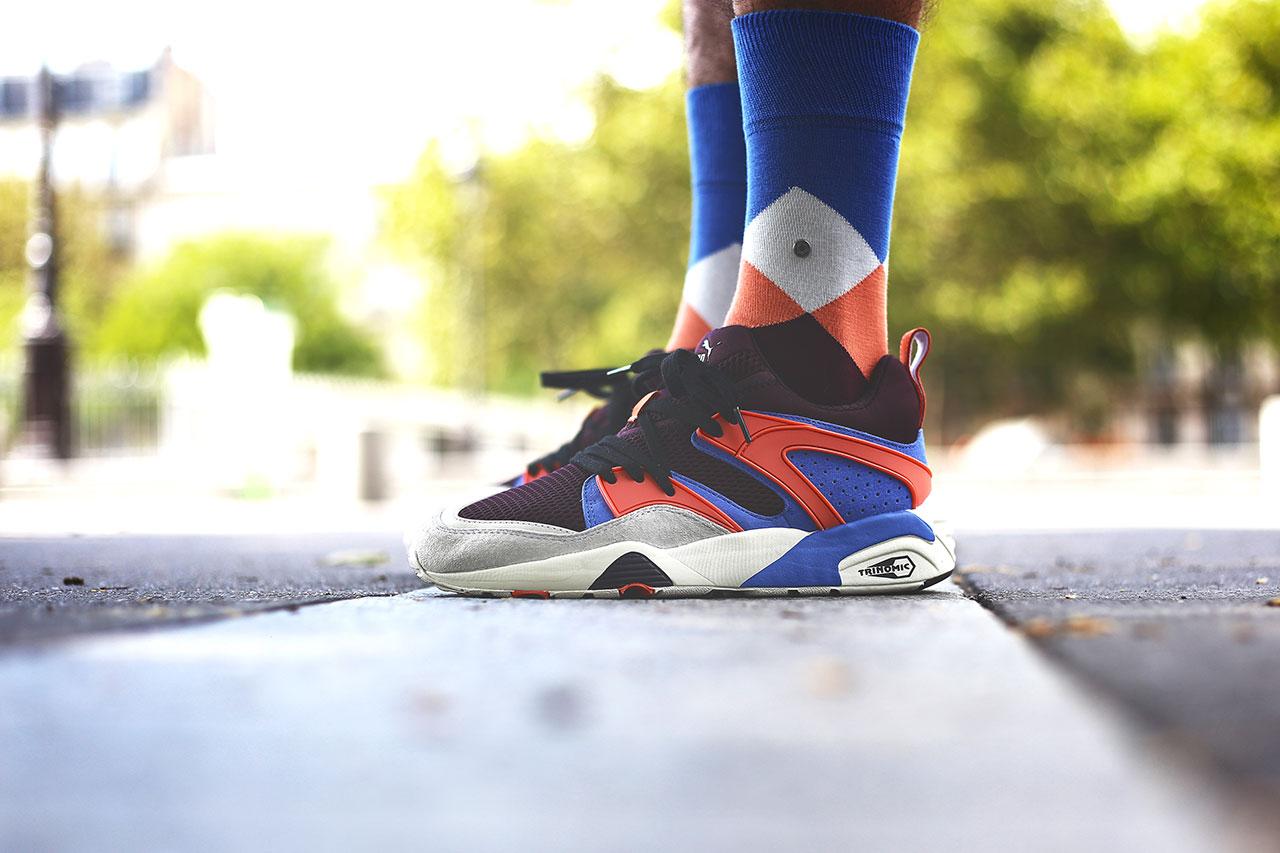 """Sneakerness Paris x Burlington """"The Clyde"""" Socks"""