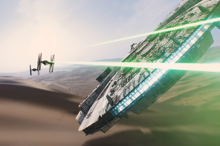 'Star Wars: The Force Awakens' 360 Immersive Experience Unveiled on Facebook