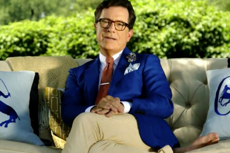 Stephen Colbert Envisions His Own Lifestyle Brand