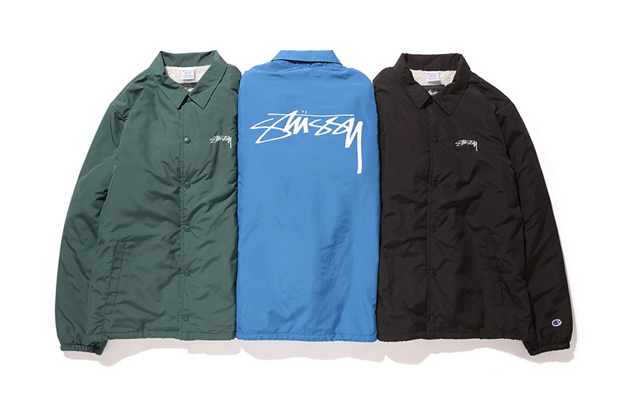 """Stussy x Champion Japan 2015 Fall """"Stock"""" Collection"""