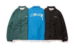 "Stussy x Champion Japan 2015 Fall ""Stock"" Collection"