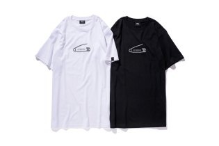 "Stussy x JAM HOME MADE ""Safetypin"" T-Shirts"