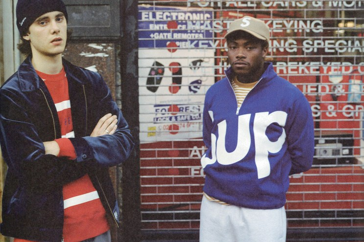 """Supreme 2015 Fall/Winter """"It's Calm G"""" Editorial by 'POPEYE'"""