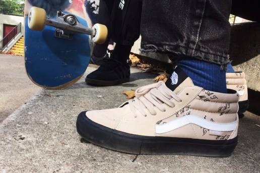 Supreme x Vans 2015 Fall/Winter Sk8-Mid Collection