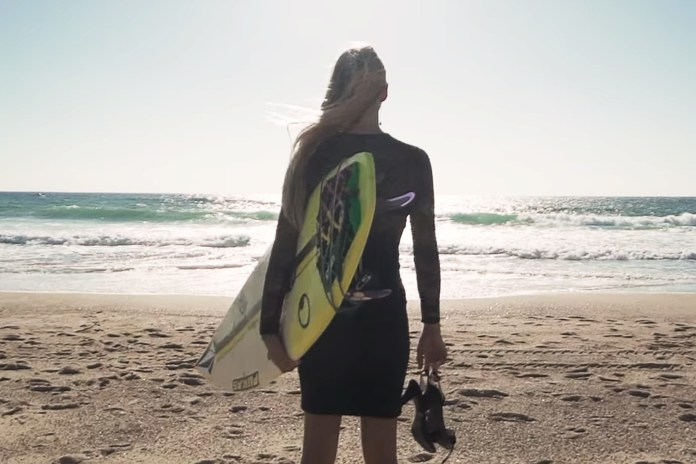 Watch This Surfer Shred in a Cocktail Dress and High Heels