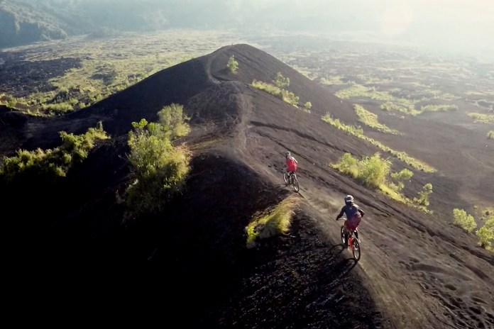 Captivating Footage of Mountain Bikers Exploring Bali