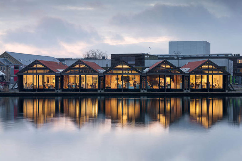 Take a Look at These Old Boat Houses Repurposed Into New Offices