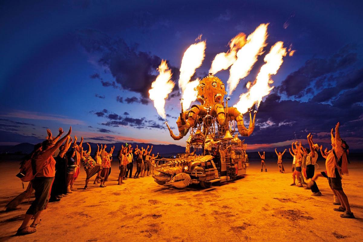 Taschen Celebrates Burning Man With a Stunning Photo Book