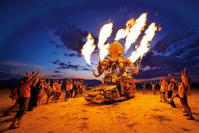 Taschen Celebrates Burning Man With a Stunning Photo Book