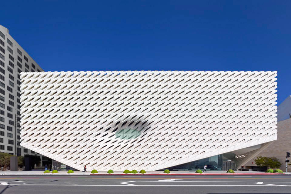 The Broad Museum Opens in Los Angeles