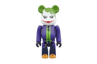 "Medicom Toy ""The Joker"" Bearbrick in 100% and 400%"