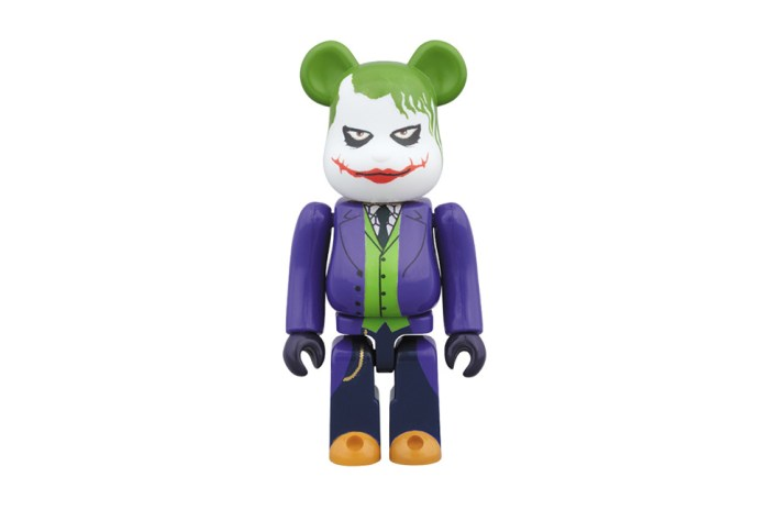 "Medicom Toy ""The Joker"" Bearbrick in 100% and 400%"