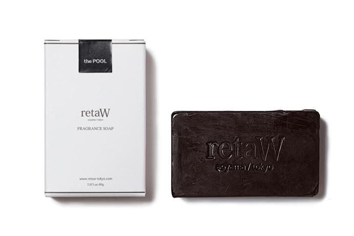 the POOL aoyama x retaW ALLEN* Fragrance Soap