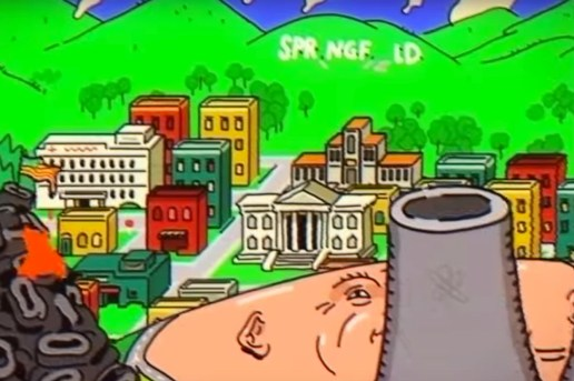 A Truly Nightmarish Tribute to 'The Simpsons' Opening Credits