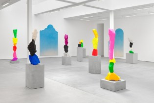 Ugo Rondinone 'Clouds + Mountains + Waterfalls' Exhibition at Sadie Coles London