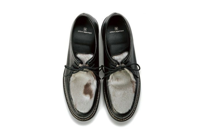 uniform experiment 2015 Fall/Winter Seal Fur Footwear