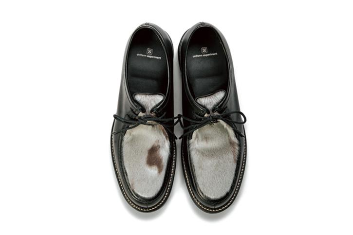uniform experiment 2015 Fall/Winter Seal Fur Footwear