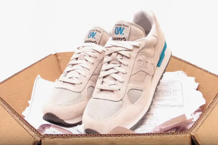 Universal Works and Saucony Announce Collaboration with Stop-Motion Video